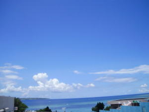 久米島のロングビーチ イーフビーチ